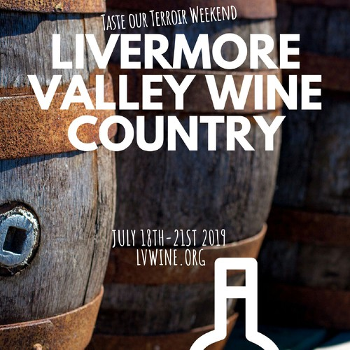 Livermore Valley Wine Country Poster Design