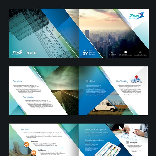 Delivery Services brochure