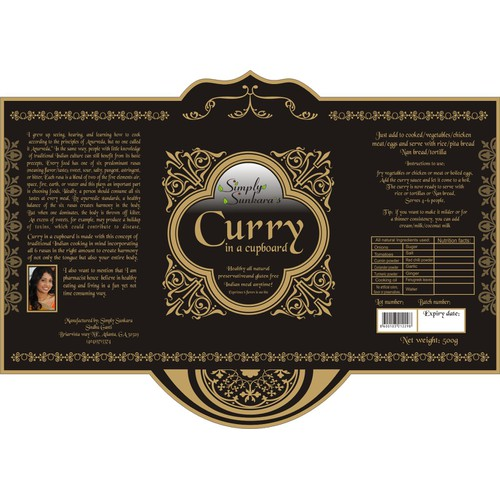 SIMPLY SUNKARA'S curry in a cupboard!