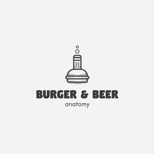 Logo concept for Burger&Beer