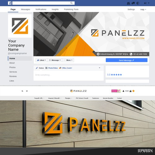 "Facebook Cover for "" PANELZZ """