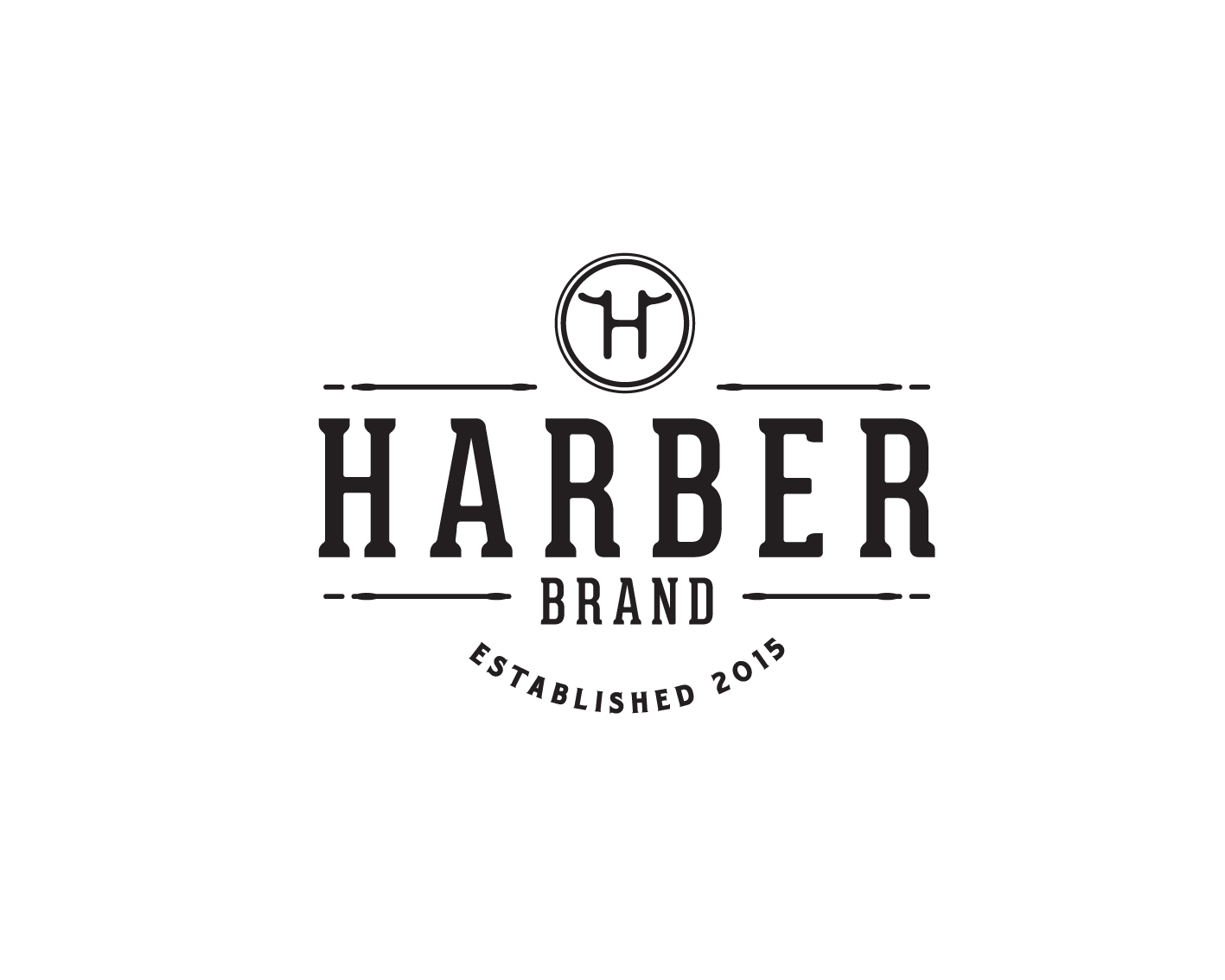 Create a rustic/manly Harber Brand logo