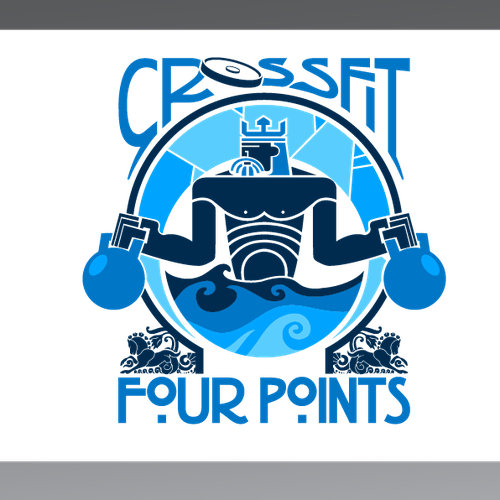 Create the next logo for Crossfit Four Points
