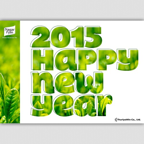 Artwork for Company's New Year Greeting