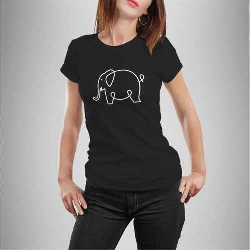 Design a fun T-Shirt for a non-profit and help save elephants!