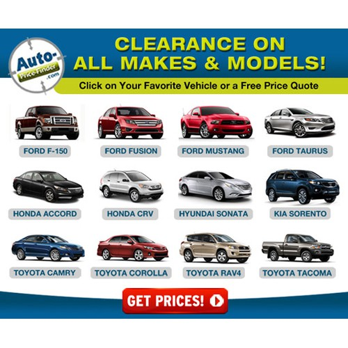 Fun & Easy Automotive Banner Ad Needed
