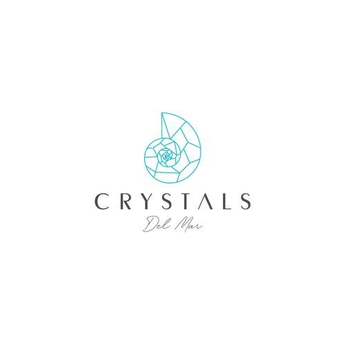 Logo Design - Crystals Del Mar