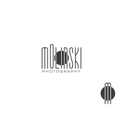 Create a capturing logo for Molinski Photography