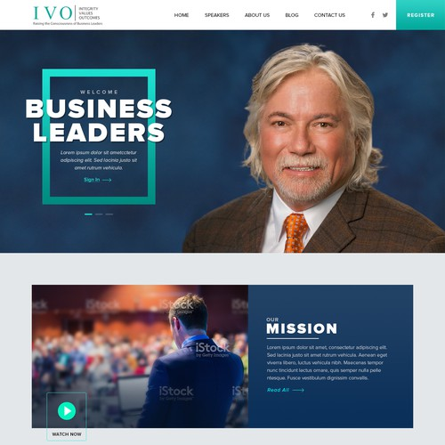 Business Leader Website.