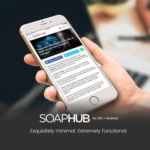 App for SOAPHUB blog
