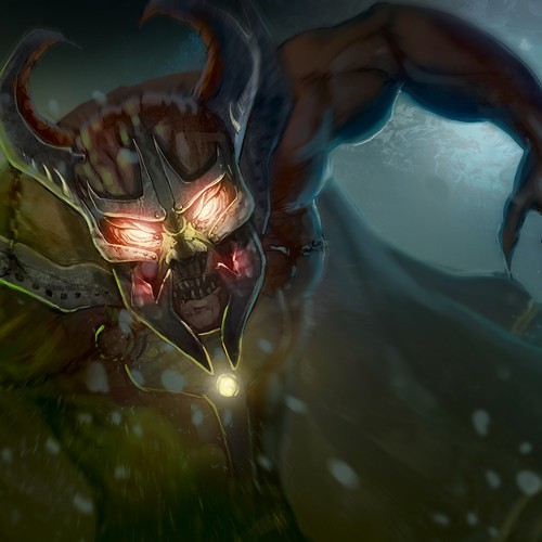 Fantasy Illustration - monster
