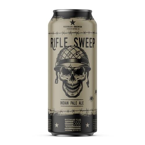 Bold Punk Beer Label