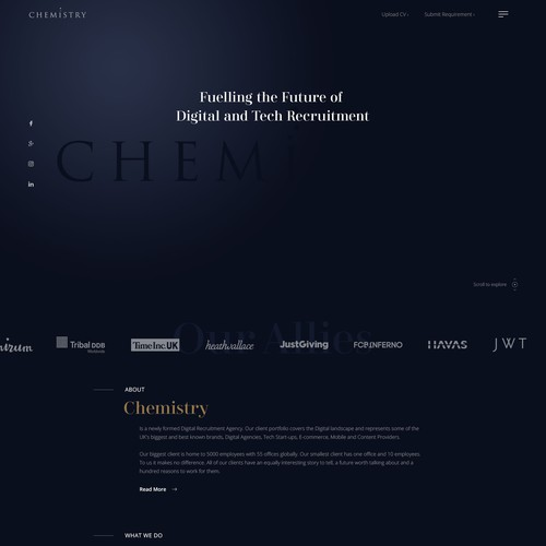 Chemistry | Recruitment