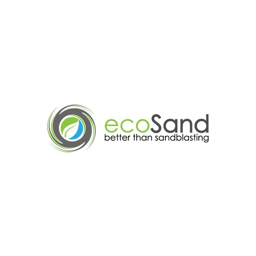 ecosand (reminder this is eco (green) friendly) look to other eco friendly logos