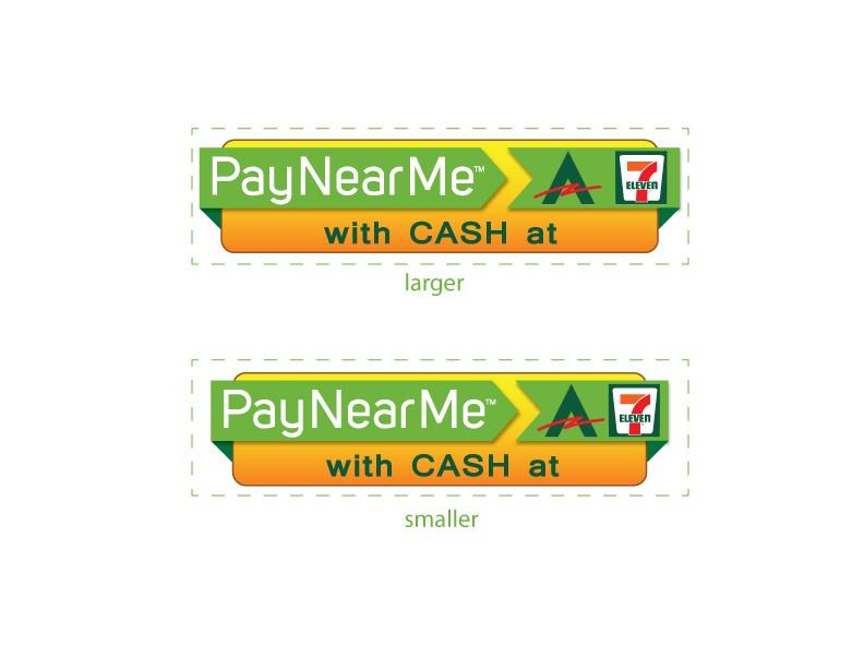 Create the next icon or button design for PayNearMe