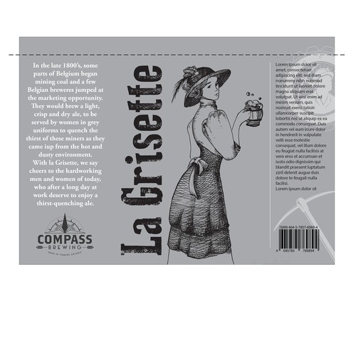 design for beer label