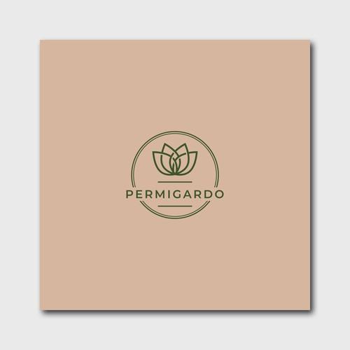 Logo for organic gardening brand