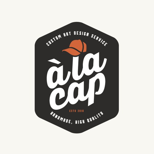 Logo for cutom hat design service