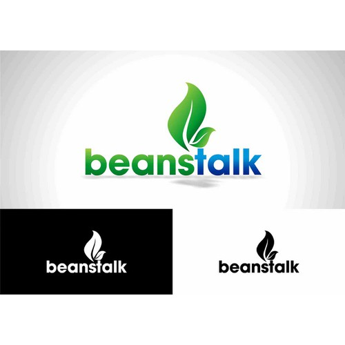 Create a logo for dynamic cloud enabled payment processor 'beanstalk'.