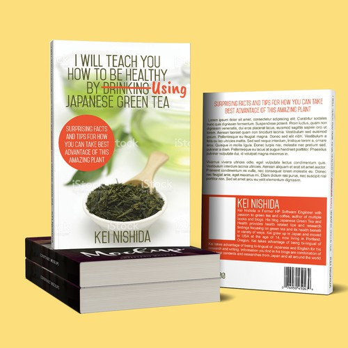 Book Cover I will teach you how to be healthy by using japanese green tea