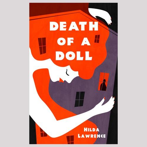 Bold crime book cover