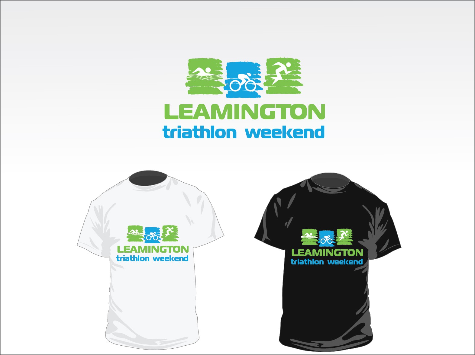 Create the next logo for Leamington Triathlon Weekend