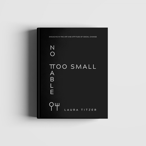 No Table Too Small - Simple and Modern Book Cover