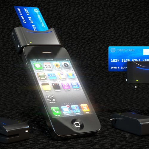 (mPOS device)::  Your Design will be touched by hundreds of thousands!!