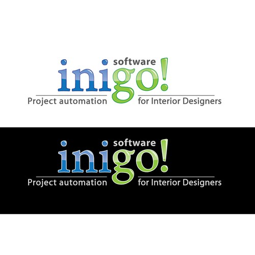 A LOGO FOR INIGO! SOFTWARE  -  used by Interior Designers