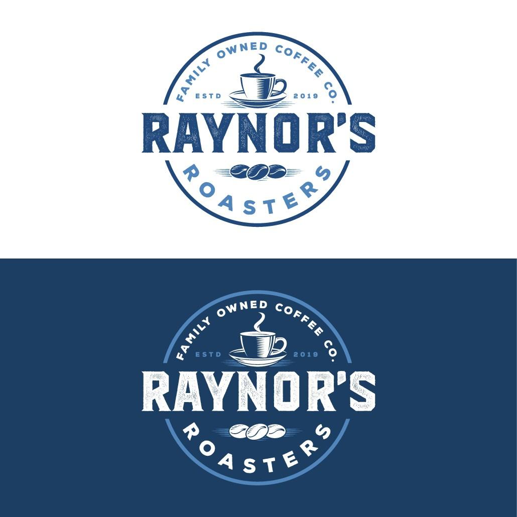 Raynor's Roasters  Coffee Company Logo Design