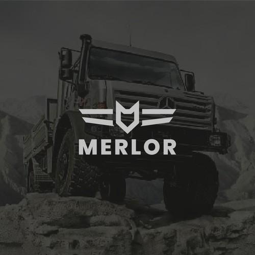 Logo concept for MERLOR