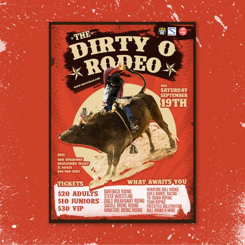 Rodeo Poster Design