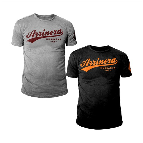 T-shirt project for Arrinera