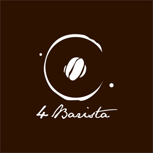 "Logo design for a ""4 Barista"" coffee shop"