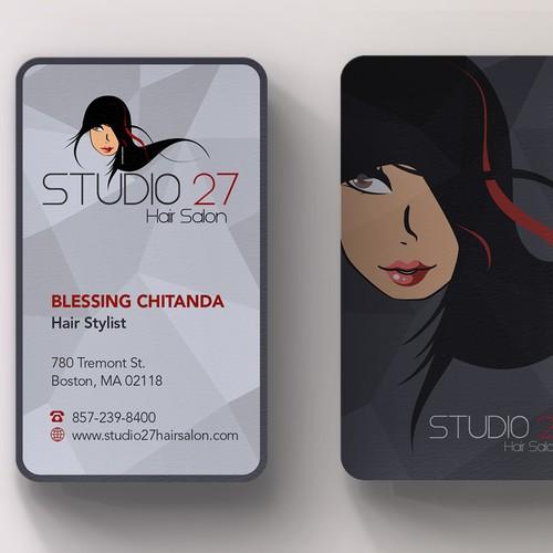 Elegant bus card for studio27