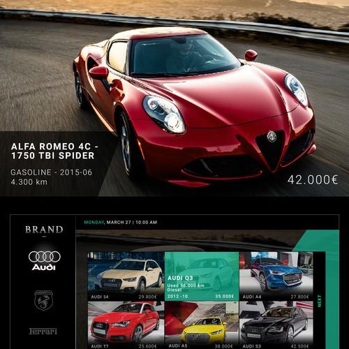 Car Dealership Interactive TV
