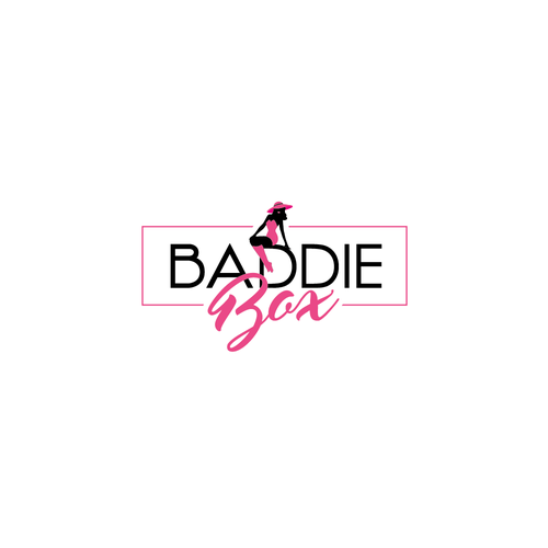 Feminine logo for a subscription box for women.