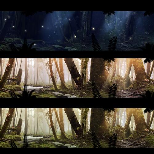 Fantasy Forest Background