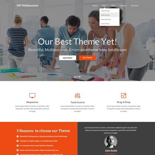 Design a great WordPress theme