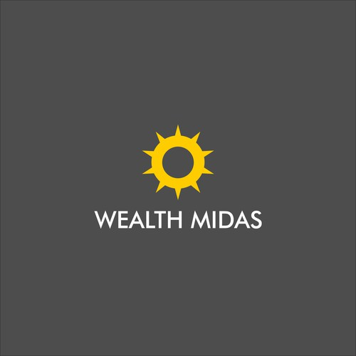 logo for wealth midas