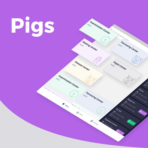 Android App Design for Pigsty
