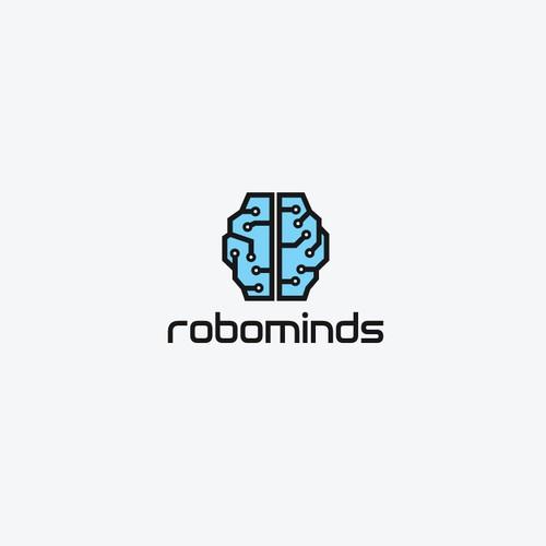 Simple logo for robotic software developer