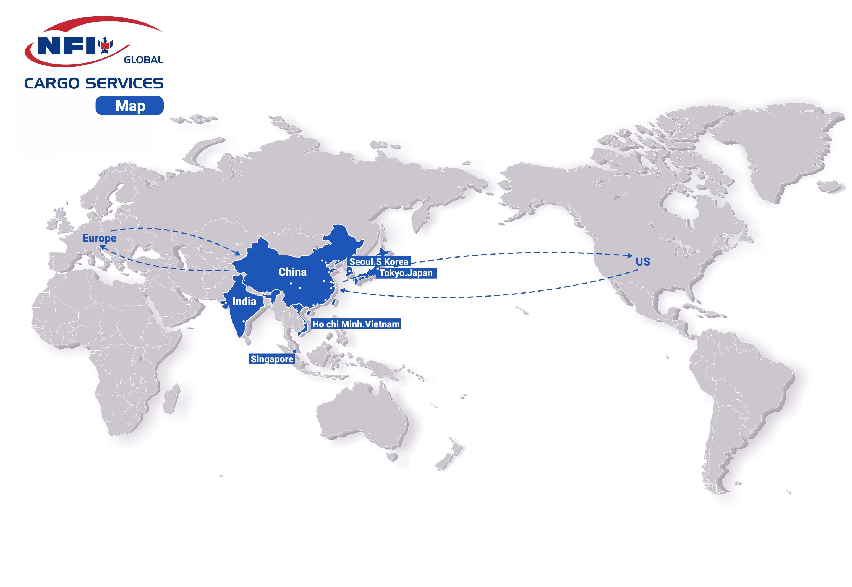Global DC Map