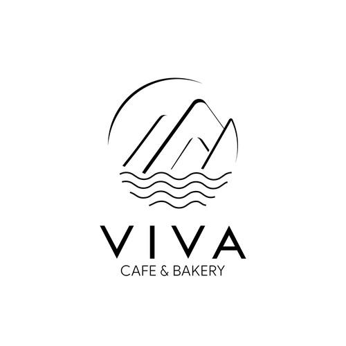 Logo concept for Viva Cafe & Bakery
