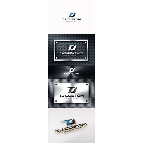 Create a new logo for TJ Custom Aluminium