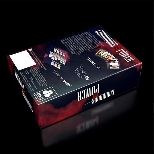 Box for a politics-themed board game
