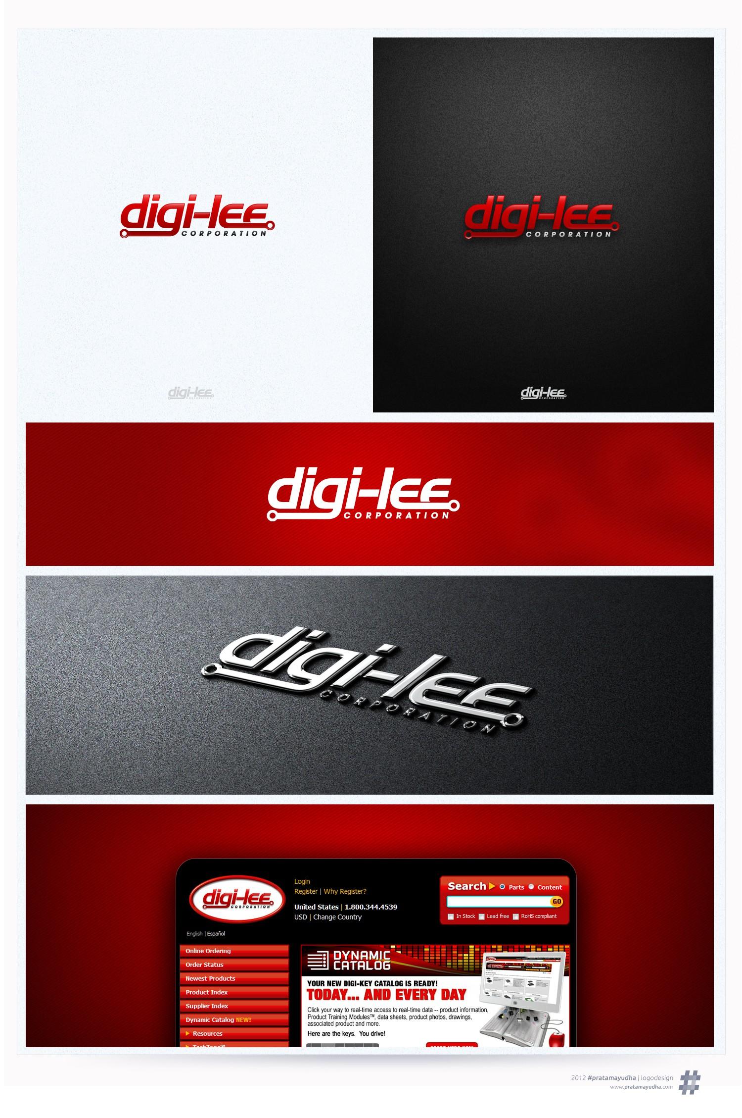 Help Digi-Key Corporation with a new logo