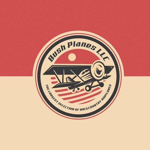 Bush Planes logo concept