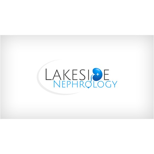 Medical logo of a kidney for my practice, Lakeside Neprhology.
