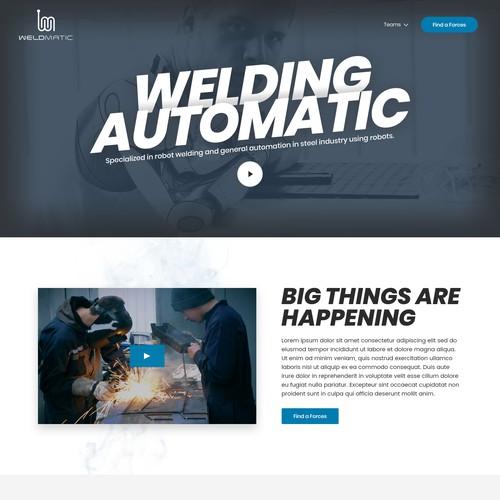 Weld Matic Homepage